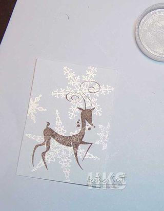 Stamp-deer