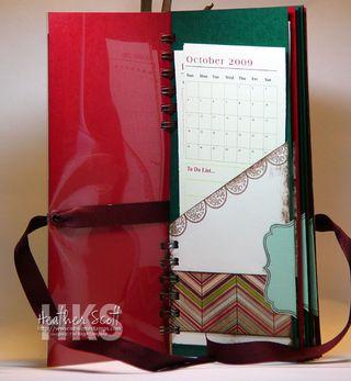 Calendar-pocket