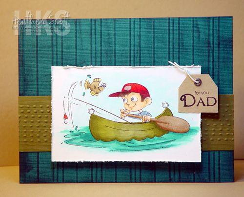 Canoe-dad